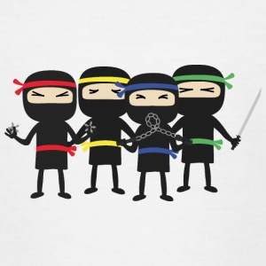 Ninja groep Shirts - Teenager T-shirt