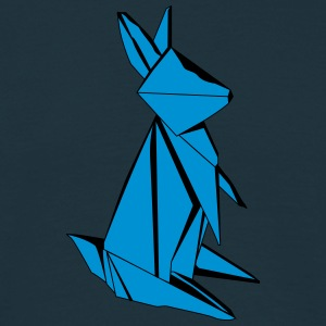Origami Rabbit Men's T-Shirt - Men's T-Shirt