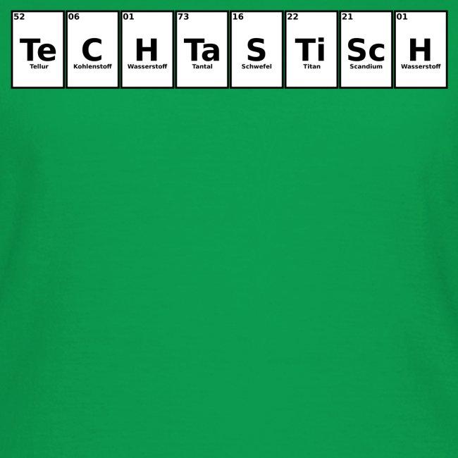 TeCHTaSTiScH - Frauen T-Shirt (Ohne Leuchten)