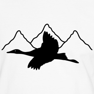 Crane mountain T-Shirts - Men's Ringer Shirt