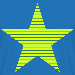 Star with Stripes T-Shirts - Men's T-Shirt