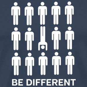 Be Different (Handstand) Tee shirts - T-shirt Premium Homme