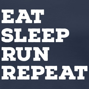 Eat, Sleep, Run, Repeat T-Shirts - Women's Premium T-Shirt