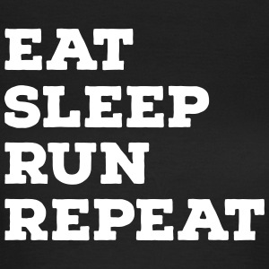 Eat, Sleep, Run, Repeat T-Shirts - Women's T-Shirt