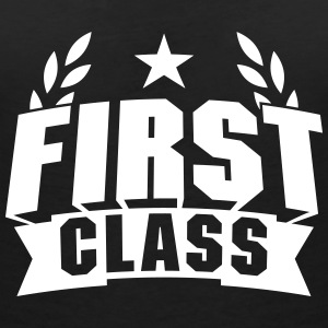 First Class T-Shirts - Women's V-Neck T-Shirt