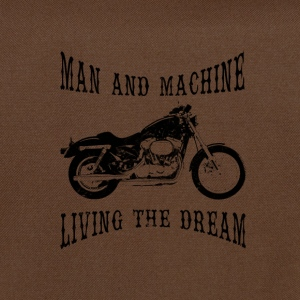 Man & Machine Living The Dream Bikers Shoulder Bag - Shoulder Bag