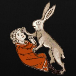 Raped by a Rabbit  - Stoffbeutel