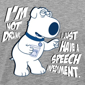 Family Guy Brian I'm Not Drunk tee shirt homme - T-shirt Premium Homme