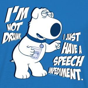 Family Guy Brian I'm Not Drunk Men T-Shirt - Koszulka męska