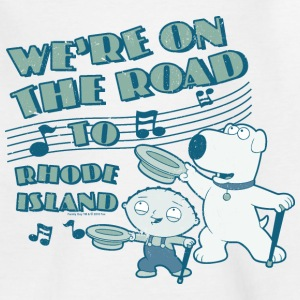 Family Guy Brian Rhode Island Teenager T-Shirt - T-skjorte for tenåringer