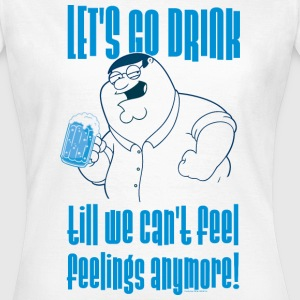 Family Guy Peter Griffin Let's go Women T-Shirt - Maglietta da donna