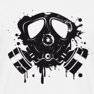 Gas mask graffiti T-Shirts - Men's T-Shirt