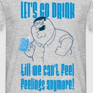 Family Guy Peter Griffin Let's go Men T-Shirt - Maglietta da uomo