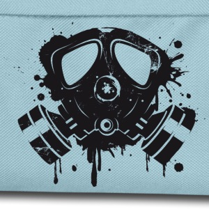 Gas mask graffiti Bags & Backpacks - Kids' Backpack