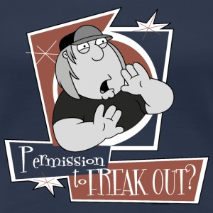 Family Guy Chris Griffin Permission to freak out?  - Women's Premium T-Shirt