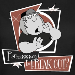 Family Guy Chris Griffin Permission to freak out?  - Camiseta mujer