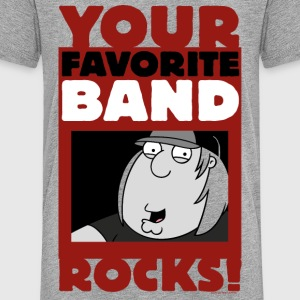 Family Guy Chris Griffin Your Favorite Band Rocks! - Teenage Premium T-Shirt