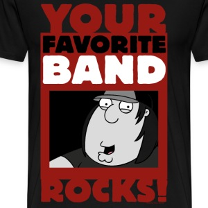 Family Guy Chris Griffin Your Favorite Band Rocks! - Men's Premium T-Shirt