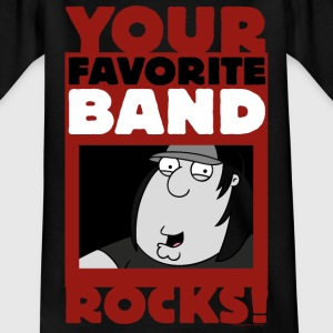 Family Guy Chris Griffin Your Favorite Band Rocks! - T-skjorte for tenåringer