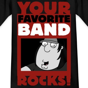 Family Guy Chris Griffin Your Favorite Band Rocks! - T-shirt tonåring