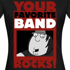 Family Guy Chris Griffin Your Favorite Band Rocks! - Women's T-Shirt