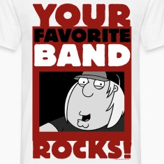 Family Guy Chris Griffin Your Favorite Band Rocks!