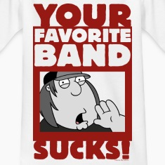 Family Guy Chris Griffin Your Favorite Band Sucks!