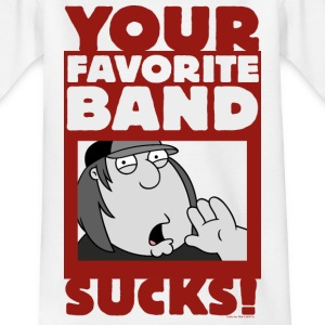 Family Guy Chris Griffin Your Favorite Band Sucks! - T-skjorte for tenåringer