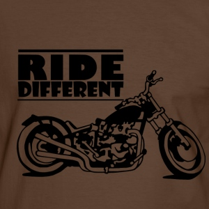 Ride different - T-shirt contraste Homme