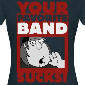 Family Guy Chris Griffin Your Favorite Band Sucks! - T-shirt dam
