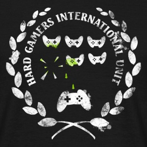 Hard Gamers Int. Unit Tee shirts - T-shirt Homme