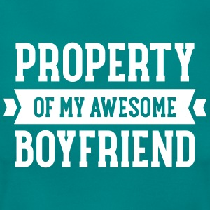 Property Of My Awesome Boyfriend T-Shirts - Women's T-Shirt