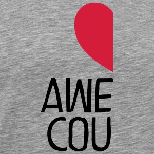 Awesome Couple. Part2 T-shirts - Herre premium T-shirt
