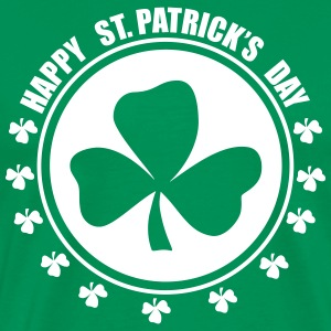 Happy st.patricks days T-skjorter - Premium T-skjorte for menn