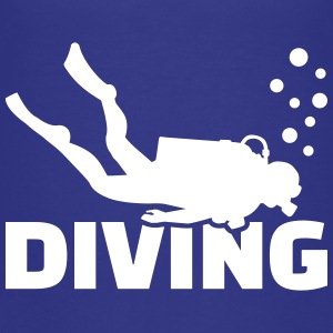 Diving T-Shirts - Kinder Premium T-Shirt
