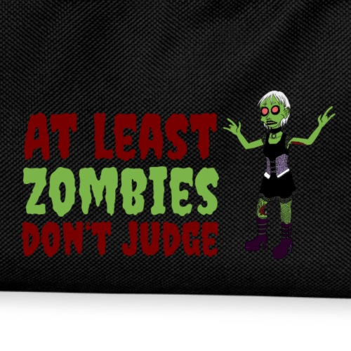 Zombies don't judge