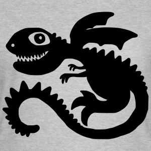 Little Dragon T-shirts - Dame-T-shirt