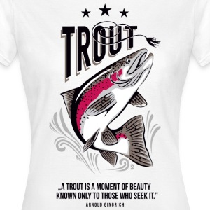 AD Trout Tee shirts - T-shirt Femme