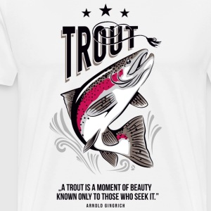 AD Trout T-Shirts - Men's Premium T-Shirt