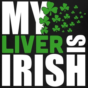 St. Patrick'S Day: MY LIVER IS IRISH Shirts - Kinderen Premium T-shirt