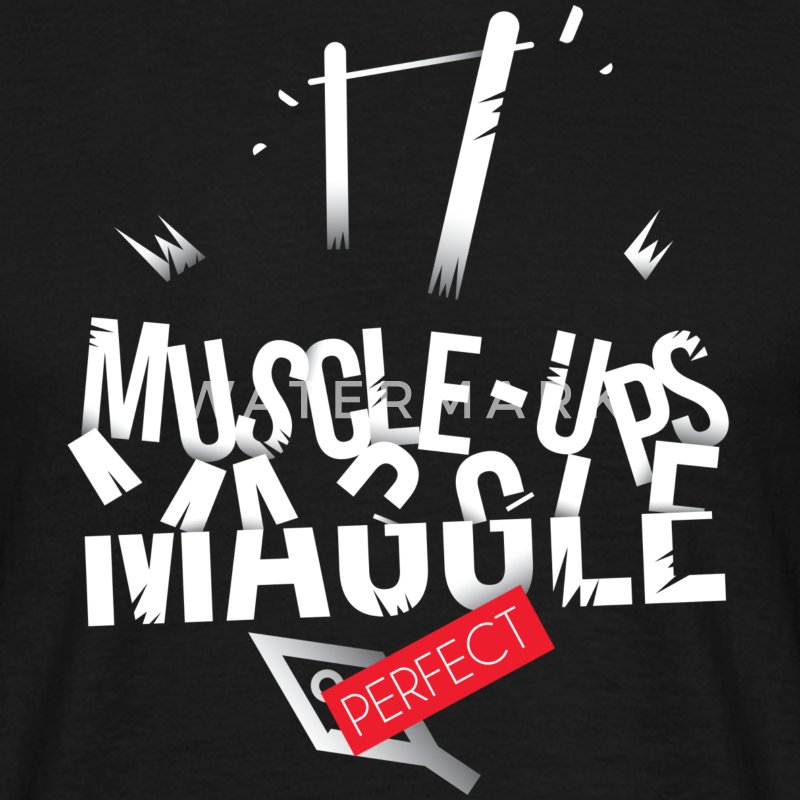 MUSCLE-UP MAGGLE !  - T-shirt Homme