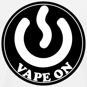 Vape T-shirt Icon Vape On T-shirts - Premium-T-shirt herr