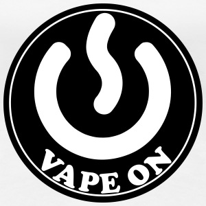 Vape T-shirt Icon Vape On T-Shirts - Women's Premium T-Shirt