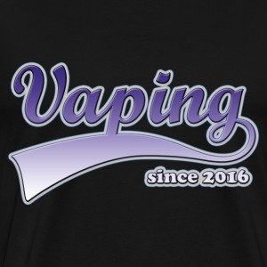 Vape T-shirt since 2016 T-Shirts - Men's Premium T-Shirt