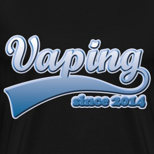 Vape T-shirt since 2014 T-Shirts - Men's Premium T-Shirt