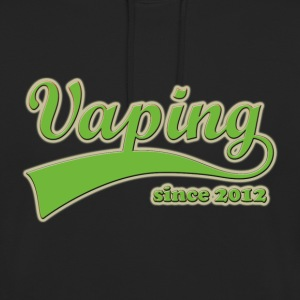 Vape T-shirt Since 2012 Sweat-shirts - Sweat-shirt à capuche unisexe