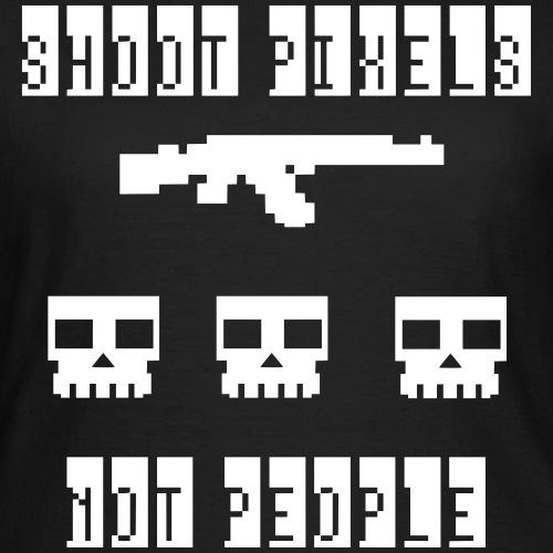 Shoot Pixels Not People