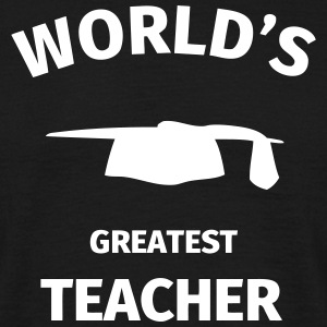 World's Greatest Teacher T-skjorter - T-skjorte for menn