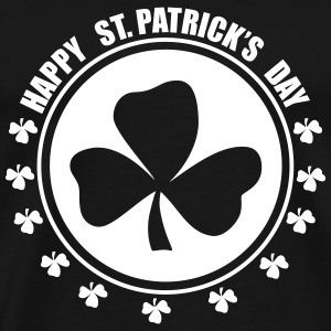 Happy st.patricks days T-shirts - Mannen Premium T-shirt