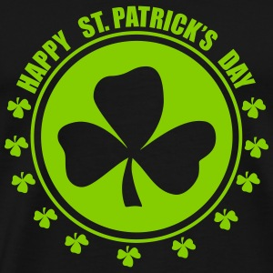 Happy st.patricks days T-shirts - Premium-T-shirt herr